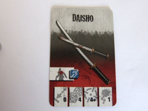 survivor equipment card (daisho)